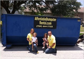 Roll off Dumpsters in Broward County